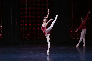 Bolshoi Ballet Soloist Yulia Grebenshikova in Rubies from JEWELS